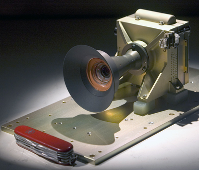 Photograph of MSL MARDI camera head.